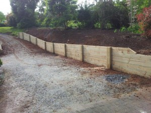 Timber retaining wall services melbourne (10)
