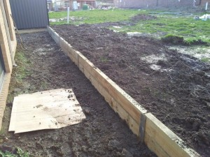 Timber retaining wall services melbourne (2)