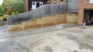 Timber retaining wall services melbourne (22)