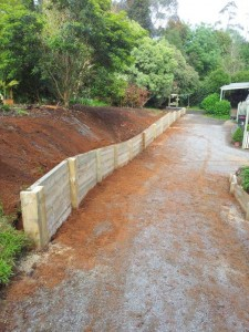 Timber retaining wall services melbourne (6)