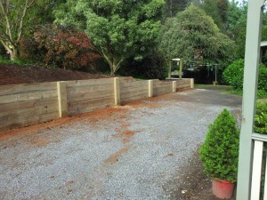 Timber retaining wall services melbourne (8)